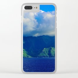 Mysterious Land Clear iPhone Case