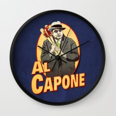 Al Capone Wall Clock