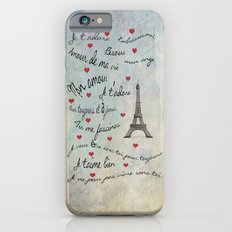 Paris Amour Valentines Design  Slim Case iPhone 6