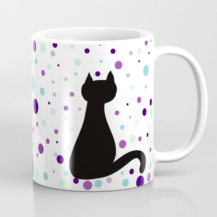 Black Cat Party! Coffee Mug