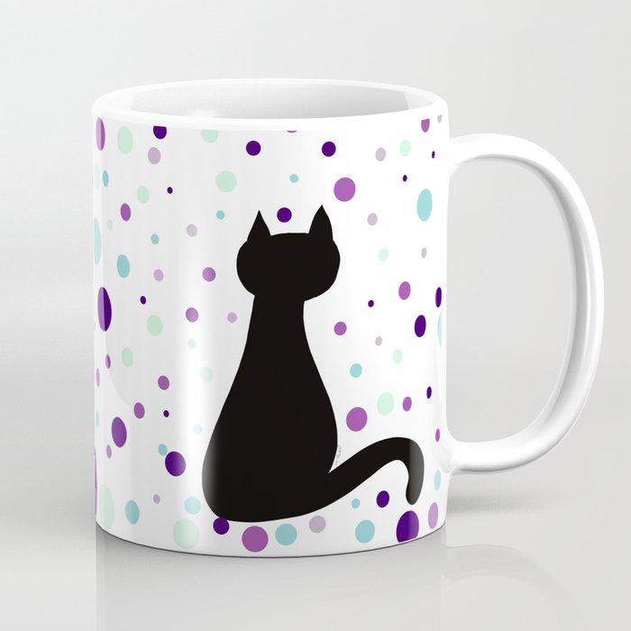 Black Cat Party! Coffee Mug