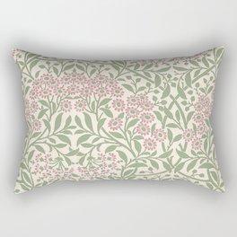 William Morris Michaelmas Daisy Rectangular Pillow