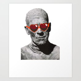 Imhotep Only Has Eyes For You Art Print