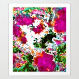 Color Clouds Art Print