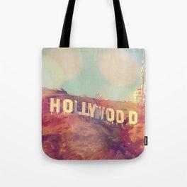 Hollywood Sign, Los Angeles, California - Photograph Tote Bag