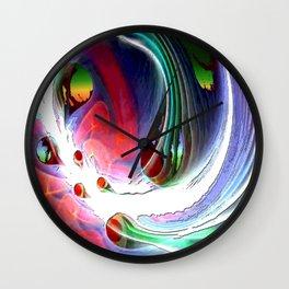 Surfrealism 789 Wall Clock