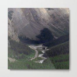 Awesome Kicking Horse Pass, Canadian Rockies Metal Print