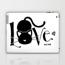 I Love You <3 Kitty Laptop & iPad Skin