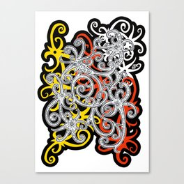 Sarawak Hornbill 2 Canvas Print