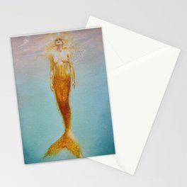 Siren Of The Sea Stationery Cards