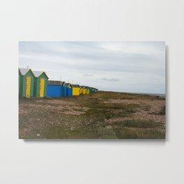 Littlehampton Beach_2 Metal Print