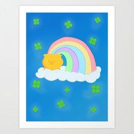 Lucky Rainbow Art Print