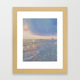 Magic ocean Framed Art Print
