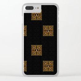 GOLD EIFFEL WEIMARANER 2 Clear iPhone Case