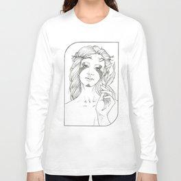 Fool - Tarot Card Long Sleeve T-shirt