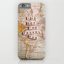 I've got the travel bug iPhone Case