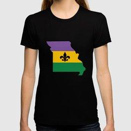 Mardi Gras Mo T-shirt