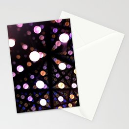 Shiny spheres | 3 Stationery Cards