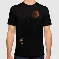 The Red Moon LARGE Black Mens Fitted Tee