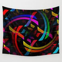 happy birthday Wall Tapestries featuring Happy Birthday by David Lee
