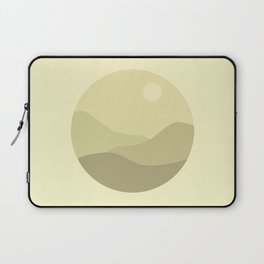 Minimal Meadow Day Laptop Sleeve