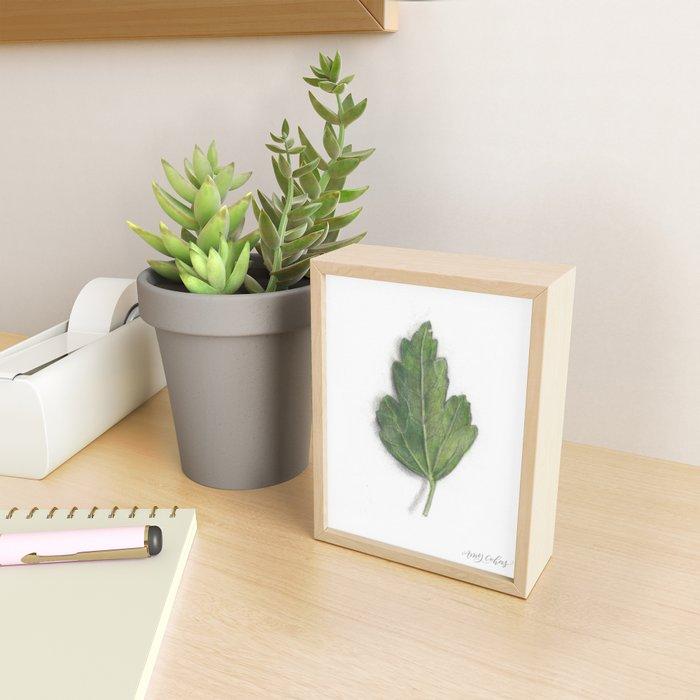 Leaf Study II Framed Mini Art Print