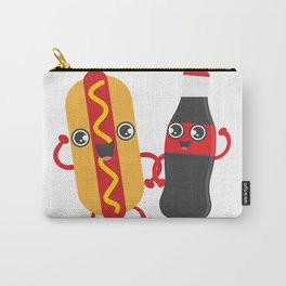 Hotdog & Coke Carry-All Pouch