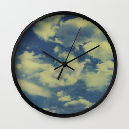 Instant Series: Clouds II Wall Clock