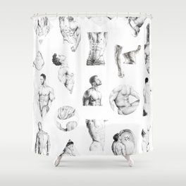 Nood Dood Pattern Shower Curtain