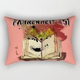 Fahrenheit 451 Rectangular Pillow