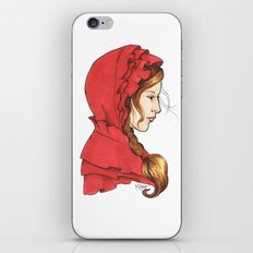 Red iPhone & iPod Skin