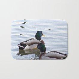 A Mallard Couple Bath Mat
