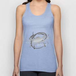 Cancer the Crab - Zodiac Sign Unisex Tank Top