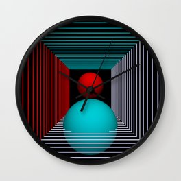 experiments on geometry -8- Wall Clock