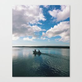 Boating Date Canvas Print