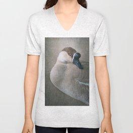 The Swan Goose Unisex V-Neck