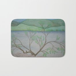 Banks of the Canal Bath Mat