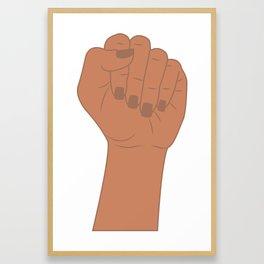 Female Power 3 Framed Art Print