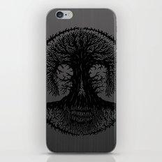 romkalah, black iPhone & iPod Skin