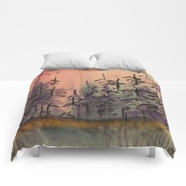 Untitled Reflections Comforters