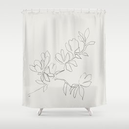 Floral Study no. 4 Shower Curtain