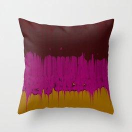 Goo (Murple) Throw Pillow