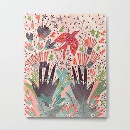 Spring Bird Metal Print
