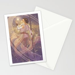 Lady of Light III Stationery Cards