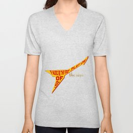 If Music Be the Food Of Love, Play On! Unisex V-Neck