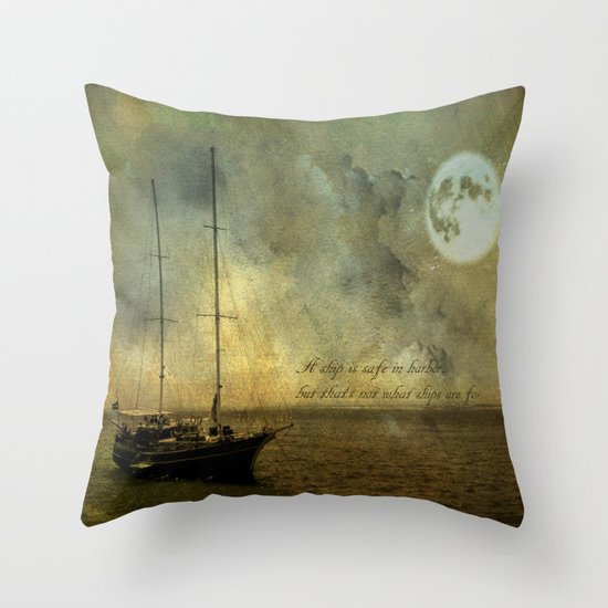 A ship 2 Throw Pillow
