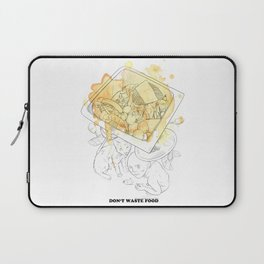 Don't waste food Laptop Sleeve