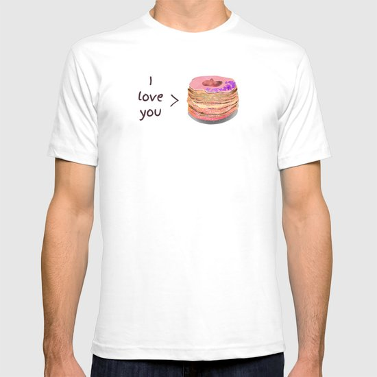 I love you more than cronuts T-shirt
