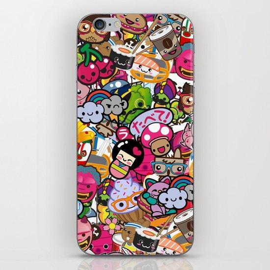 Supercombo #2 iPhone & iPod Skin
