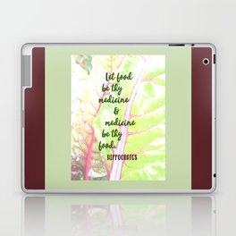 Let food be thy medicine Laptop & iPad Skin